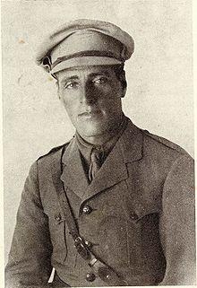 Yossef Trumpeldor a Tel-Hai.